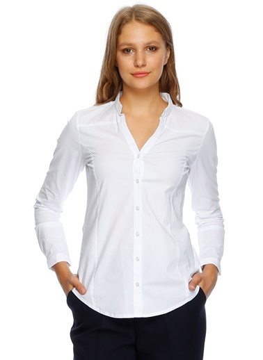 Fabrika Slim Fit Gömlek Beyaz